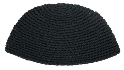 BIG JEWISH KIPPAH - Black - Large