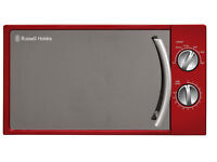 ***NEW***Russell Hobbs Manual Microwave 17 Litre Red RHM1709R RED COLOR