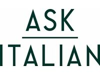 ASK Italian / Line Chefs / Various Locations / Immediate Start