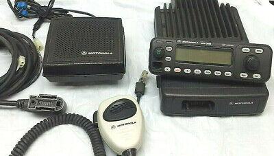 Motorola Uhf Mcs 2000 M01hx627w 2-way Radio Control Unit Model M01rlm9pw6bn