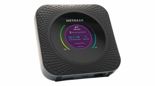 Netgear Nighthawk MR1100 M1 Mobile Hotspot Router Dual Band 2.4GHz 5GHz - Black
