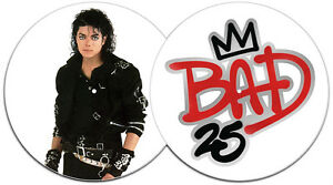 MICHAEL-JACKSON-Bad-25-UK-limited-edition-vinyl-picture-disc-LP-NEW-UNPLAYED