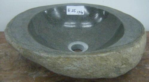 Granieten Wastafel Badkamer : ≥ kei wastafel natuursteen wasbak graniet steen waskom rivier