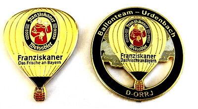 BIERBALLON Pin / Pins - FRANZISKANER / D-ORRJ - 2 PINS!!!!!!!!!! [3128]
