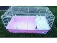Indoor pink rabbit cage good condtion