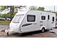 2009 STERLING EUROPA 530, 5 BERTH (SEPARATE SHOWER) WITH AIR AWNING & MOTOR MOVE - EXTRAS!