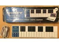 KORG nanoKEY: Slim-Line USB MIDI Keyboard