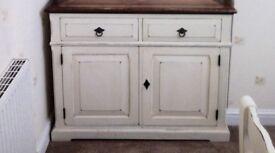 Dresser Cabinet - Bleached/Dark French Oak