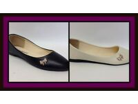 Ladies Flat Dolly Pumps Ballet Shoes NEW & BOXED