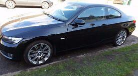 bmw 320i coupe black 2008