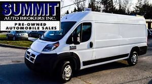 2016 Ram ProMaster 3500 HIGH-ROOF   CAR-PROOF CLEAN   CAMERA   B