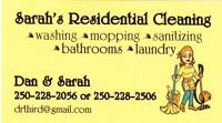 Local house cleaning Parksville Qualicum beach area