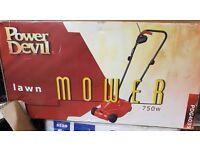NEW Power Devil Lawnmower 750w PDG4035