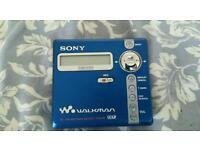 Sony Minidisc Player NZ M707