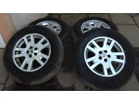 Land Rover Freelander 2 17 Inch Alloy Wheels Set of 4 with Tyres