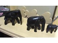 Wooden elephants from Next