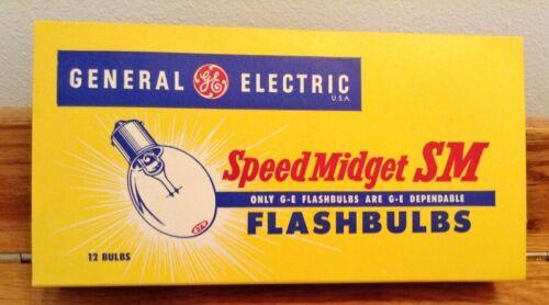 Speed Midget Type SM Flashbulbs 12 Flashbulbs for Camera Photo