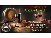 New Exciting Wine Home Based Business Due to Pre-Launch in the UK
