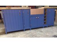 Freestanding kitchen units NO SINK