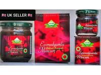 Aphrodisiac 240g (Large Jar) Themra Epimedium Paste Epimedyumlu Macun 100% Natural Aphrodisiac