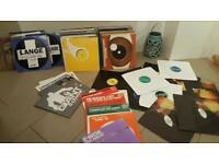130 Techno/Hard house Trance Records Vinyls .