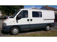 2003 Fiat Ducato MWB camper/day van spares repairs project 12V lights 240V sockets