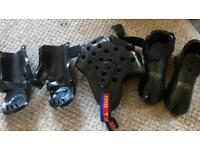 MARTIAL ARTS SPARRING GEAR- Head guard, gloves and feet guards
