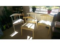 4 chairs for sale in used condition
