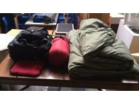 Camping bags various sizes