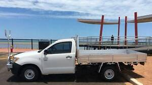 2007 Toyota Hilux Work Mate Ute Karratha Roebourne Area Preview
