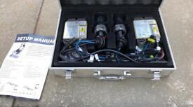 H7 HID headlight conversion kit. 6000k, unused.