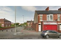 Investment Opportunity. Land for development of 2 apartments with planning. South Shields NE34
