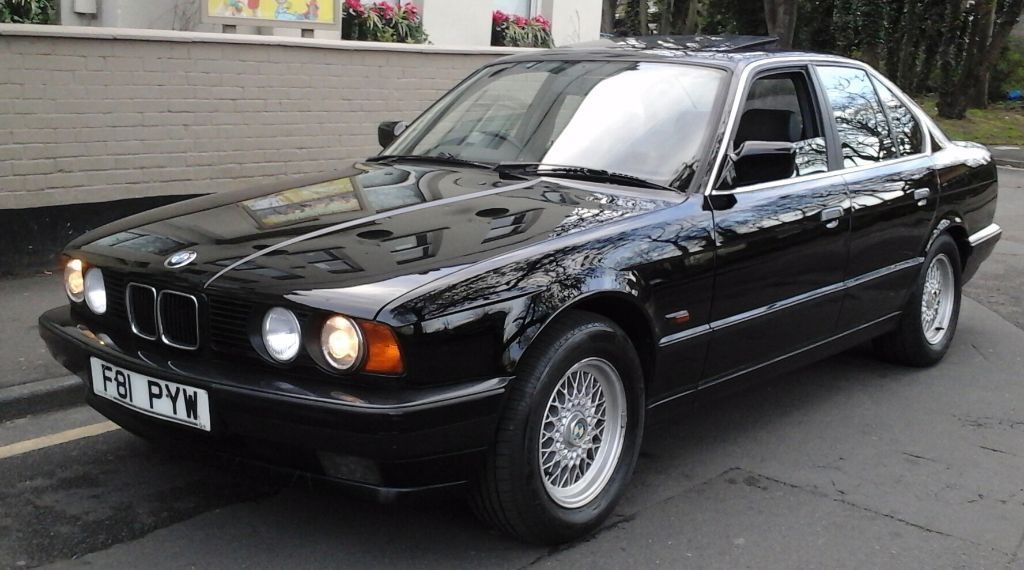 bmw 525i e34 black auto 66k on the clock nice example in north london london gumtree