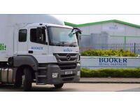Class 1 & Class 2 Drivers needed for Booker Retail Partners in Thamesmead - £31,000 av. earnings