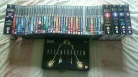 Doctor Who DVD's - Large collection