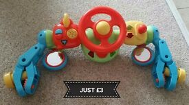Pushchair toy £3
