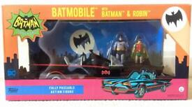 Retro Batmobile by Funko ReAction Super 7 - New & Boxed