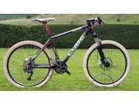 Cube Acid Mountain Bike - Hardtail MTB upgraded