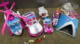 Animal Rescue Hospital Sets - Multiple sets in Excellent Condition