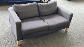 IKEA Sofa and foot stool