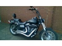 custom Harley Davidson bobber