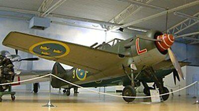 FFVS 22 Single-Engine Fighter Airplane Desktop Wood Model Small Free (Fighter Single Engine)
