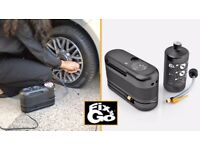 12 V Flat tire inflattor and compressor car