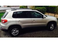 VW TIGUAN 2.0 TDI, 08 PLATE,4WD, 4 MOTION AUTO , 54k , £7995