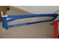 blue Tomy bed guard