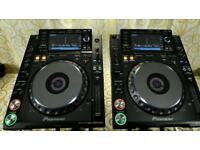 PAIR - Pioneer CDJ-2000 Nexus Pro DJ CD Digital Turntable CDJ2000-NEXUS 2000NXS