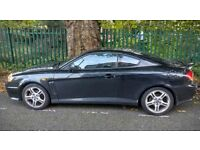 Hyundai Coupe 2.7L V6 in metalic black - Runs superbly