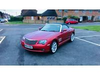 2005 CROSSFIRE CONVERTIBLE AUTOMATIC, 7 MONTHS MOT, £3,150