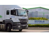 Class 1 Drivers needed for Booker Retail Partners in South Elmsal - £25,000 av. earnings