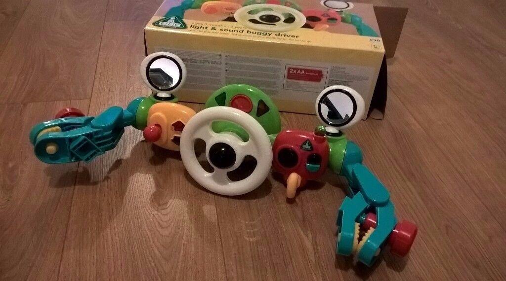 Pram steering wheel